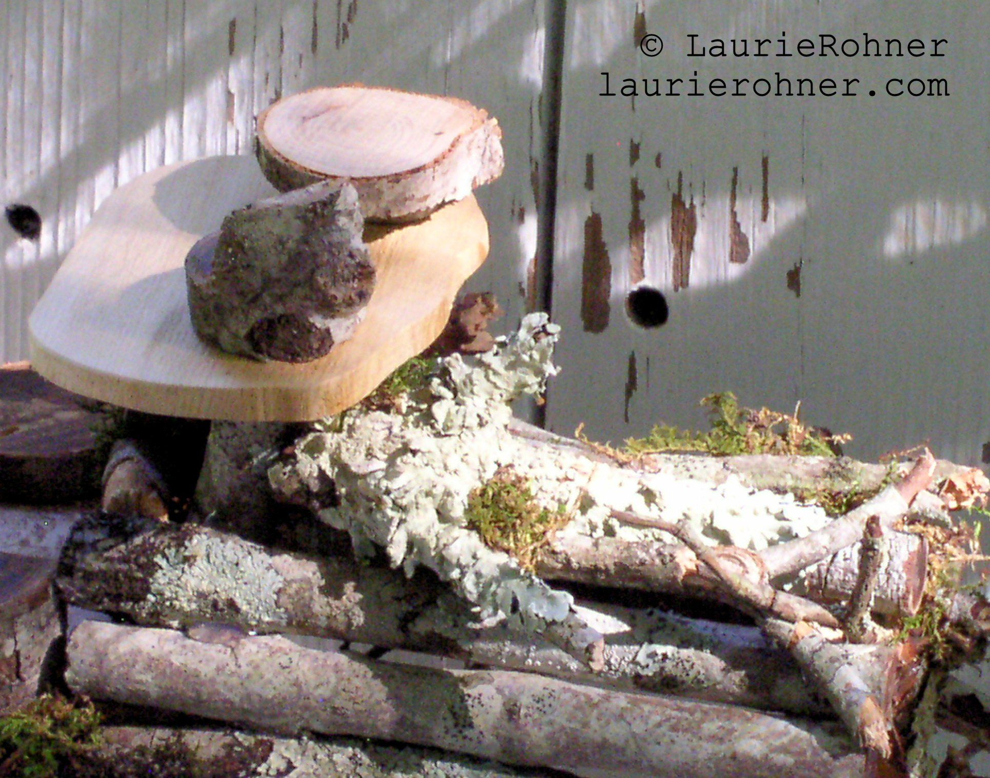 Sold Twig Woodland Fairy House Handmade One Of A Kind With